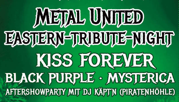 Metal United Easter Tribute Night