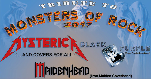Tribute to Monsters of Rock ...