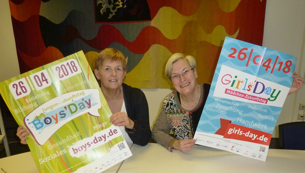 26. April: Girls'Day und Boys'Day in Schwandorf