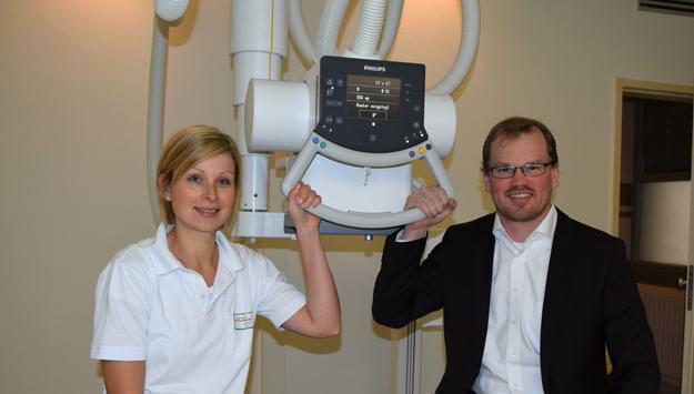 Neue Röntgenanlage für die Asklepios Orthopädische Klinik Lindenlohe
