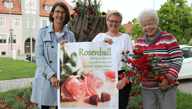 Rosenball in der Stadthalle Maxhütte-Haidhof