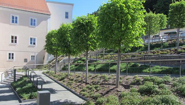 Bürgermeister-Zelzner-Platz beim Wettbewerb Architektouren ausgezeichnet