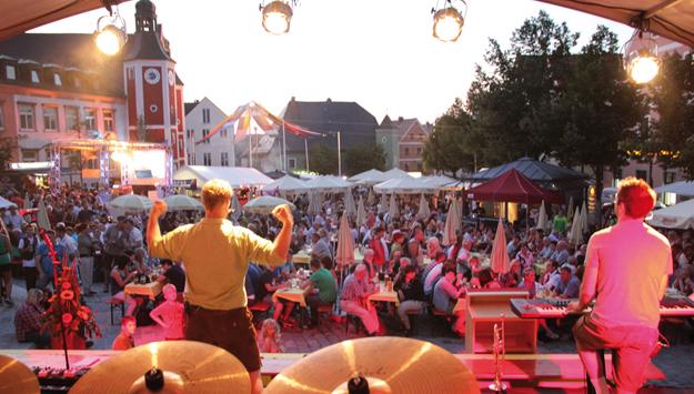 Mehr als 70 Bands beim Bürgerfest in Burglengenfeld