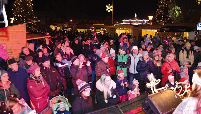 Maxhütter Weihnachtsmarkt - zum 27. Mal öffnet das Budendorf seine Tore