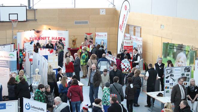 Bildungsmesse 2019 in der Stadthalle Maxhütte-Haidhof