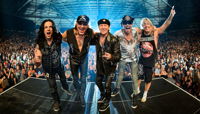 "Scorpions ""Crazy World Tour 2019"""