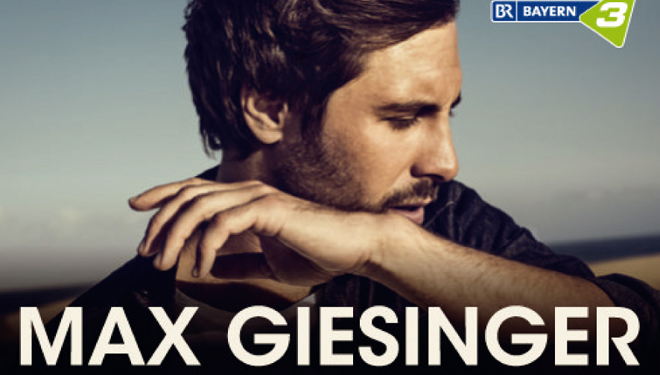"Max Giesinger – ""Die Reise"" Tour 2019"