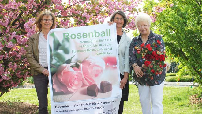 Rosenball am 19. Mai 2019 in der Stadthalle Maxhütte-Haidhof
