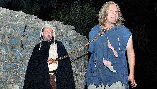 """Freilichtspiel: """"Galgenberg – Richtstätte im Mittelalter"""""""