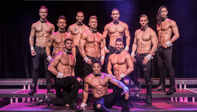 "Chippendales – ""Jubiläums Tour 2019 mit ""Bachelor"" Paul Janke"""
