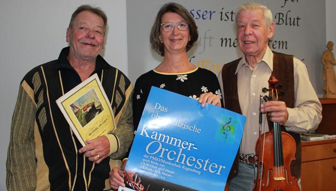 Kammerkonzert - klassische Werke mit Solisten - in der Stadthalle