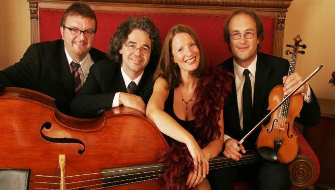 """""""Romy-Börner-Quartett"""" im Keller No.10"""