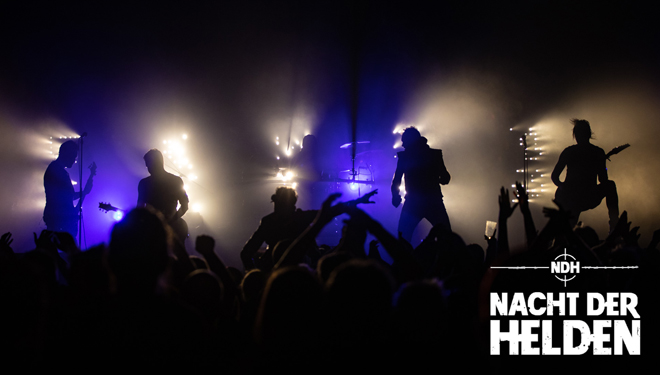 Nacht der Helden – mit Heldmaschine, Hemesath, Erdling + Faelder