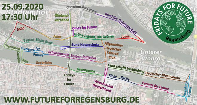 """Fridays for Future Regensburg: """"Unteilbar für's Klima!"""""""