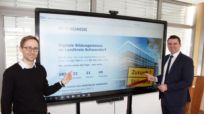 Bildungsmesse Schwandorf heuer digital