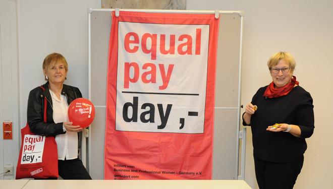 Equal Pay Day am 10.3. mahnt, die Lohnlücke zu schließen