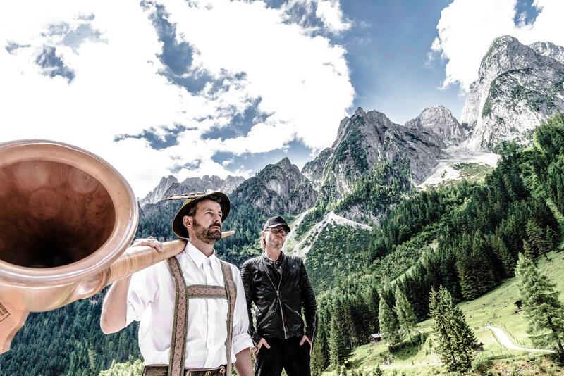 Loisach Marci - Alphorn, E-Gitarre & Elektrobeats