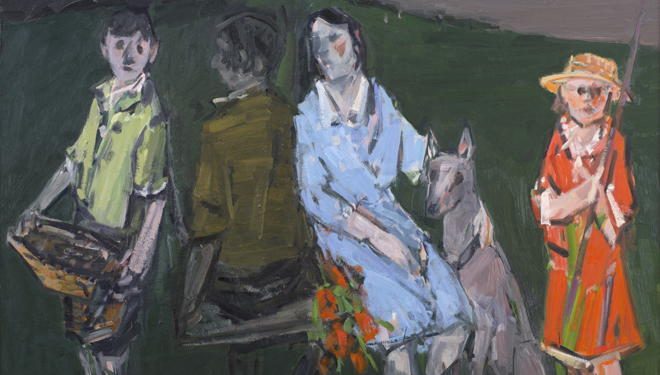 Ausstellung Richard Vogl: Malerei